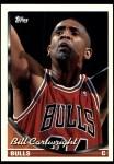 1993 Topps #45  Bill Cartwright  Front Thumbnail