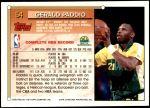1993 Topps #54  Gerald Paddio  Back Thumbnail