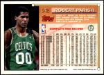 1993 Topps #142  Robert Parish  Back Thumbnail