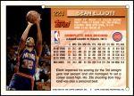 1993 Topps #229  Sean Elliott  Back Thumbnail