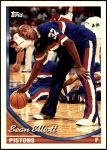 1993 Topps #229  Sean Elliott  Front Thumbnail