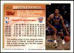 1993 Topps #258  Kevin Edwards  Back Thumbnail