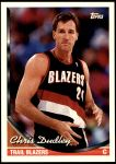 1993 Topps #364  Chris Dudley  Front Thumbnail