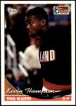 1993 Topps #380  Kevin Thompson  Front Thumbnail