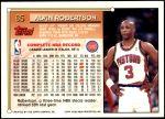 1993 Topps #65  Alvin Robertson  Back Thumbnail