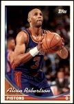 1993 Topps #65  Alvin Robertson  Front Thumbnail