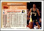 1993 Topps #241  Byron Scott  Back Thumbnail