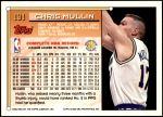 1993 Topps #191  Chris Mullin  Back Thumbnail