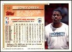 1993 Topps #36  Sidney Green  Back Thumbnail