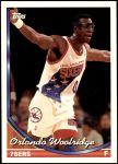1993 Topps #338  Orlando Woolridge  Front Thumbnail