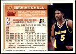 1993 Topps #162  Sam Mitchell  Back Thumbnail