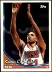1993 Topps #258  Kevin Edwards  Front Thumbnail