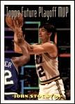 1993 Topps #201   -  John Stockton Future Playoff MVP Front Thumbnail