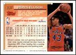1993 Topps #297  Pervis Ellison  Back Thumbnail