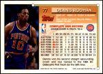 1993 Topps #77  Dennis Rodman  Back Thumbnail
