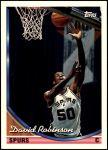 1993 Topps #228  David Robinson  Front Thumbnail