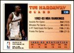 1993 Topps #130   -  Tim Hardaway All-Star Back Thumbnail