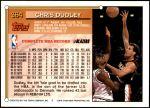 1993 Topps #364  Chris Dudley  Back Thumbnail