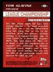 2000 Topps #226   -  Tom Glavine National League Championship Series Back Thumbnail