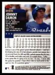 2000 Topps #295  Johnny Damon  Back Thumbnail