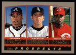 2000 Topps #442   -  Rafael Furcal / Jason Dellaero / Gookie Dawkins Prospects Front Thumbnail