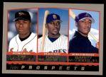 2000 Topps #445   -  Tim Raines Jr. / Gary Matthews Jr. / Garry Maddox Prospects Front Thumbnail
