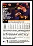 2000 Topps #62  Brian Giles  Back Thumbnail