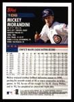 2000 Topps #106  Mickey Morandini  Back Thumbnail