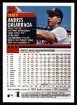 2000 Topps #387  Andres Galarraga  Back Thumbnail