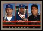2000 Topps #444   -  Julio Zuleta / Dernell Stenson / Jorge Toca Prospects Front Thumbnail
