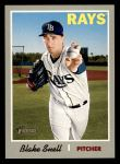 2019 Topps Heritage #411 A Blake Snell  Front Thumbnail