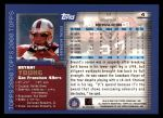 2000 Topps #4  Bryant Young  Back Thumbnail