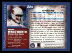 2000 Topps #232  Andre Wadsworth  Back Thumbnail