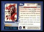 2000 Topps #337   -  James Hasty Millennium Milestones Back Thumbnail