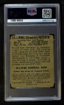 1948 Leaf #11  Phil Rizzuto  Back Thumbnail