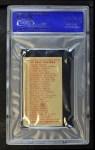 1910 Philadelphia Caramel E96  George Mullin  Back Thumbnail