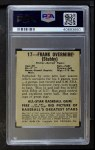 1948 Leaf #17  Frank Overmire  Back Thumbnail