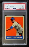 1948 Leaf #17  Frank Overmire  Front Thumbnail