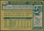 1980 Topps #178  Real Cloutier  Back Thumbnail