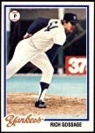 1978 Topps #70  Goose Gossage  Front Thumbnail