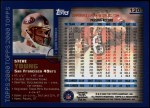 2000 Topps #120  Steve Young  Back Thumbnail