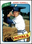 1980 Topps #98  Jerry Terrell  Front Thumbnail