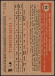 2001 Topps Heritage #69 RED Billy Wagner   Back Thumbnail