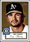 2001 Topps Heritage #70 RED Eric Chavez   Front Thumbnail