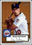 2001 Topps Heritage #195  Brian Buchanan  Front Thumbnail