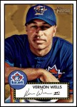 2001 Topps Heritage #212  Vernon Wells  Front Thumbnail