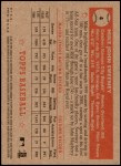 2001 Topps Heritage #4 RED Mike Sweeney   Back Thumbnail