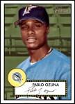 2001 Topps Heritage #126  Pablo Ozuna  Front Thumbnail