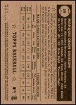 2001 Topps Heritage #59 BLK Marquis Grissom   Back Thumbnail