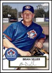2001 Topps Heritage #119  Brian Sellier  Front Thumbnail